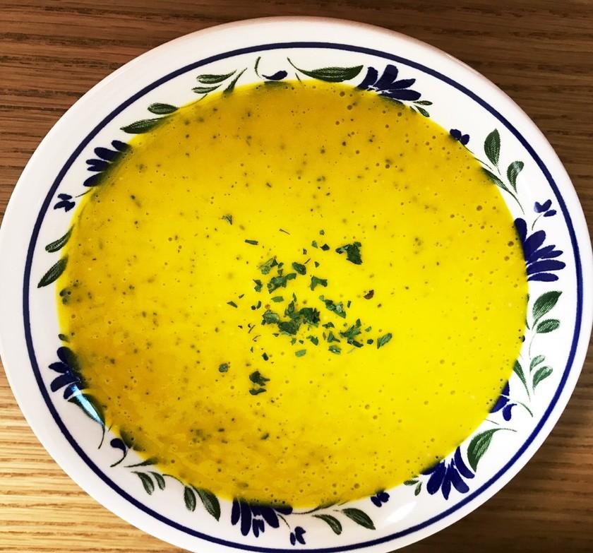 簡単かぼちゃのスープ