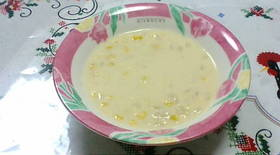こくまろなコーンスープ@めちゃ簡単♪
