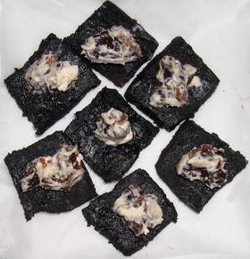 高野豆腐deココアなカナッペ風