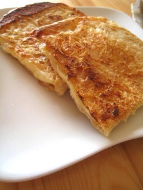 油揚げとチーズのはさみ焼き
