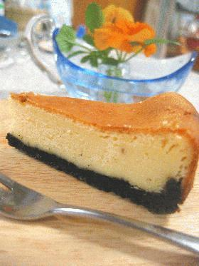 まっ黒ごげ〜?の☆チーズケーキ☆