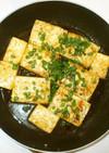 豆腐ステーキ♪簡単にんにく甘辛味