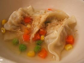 離乳食スープ餃子