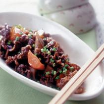 牛肉と根菜のうま煮