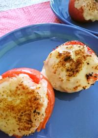 丸ごとトマトの焼きトマトリゾット♪