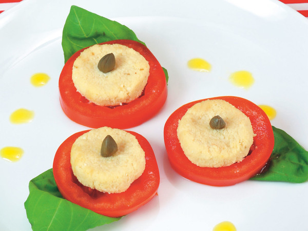 トマトのカプリーゼ