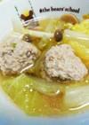 白菜と肉団子のあったか和風スープ