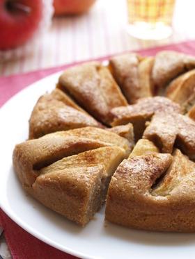そばップルケーキ