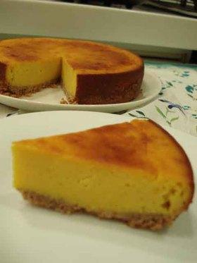 *かぼちゃのチーズケーキ*
