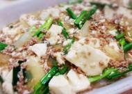 作り続けたいおかず!豚挽肉の和風肉豆腐!