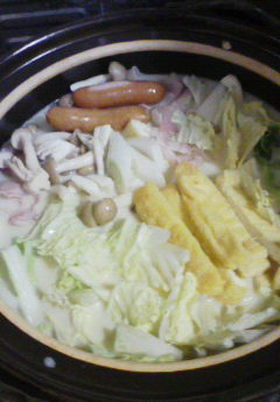 豆乳豚しゃぶ鍋