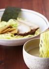 濃厚鶏白湯☆柚子塩つけ麺