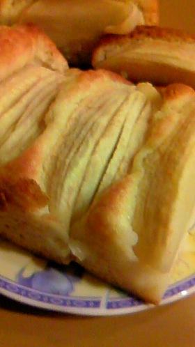 簡単!りんござくざくパウンドケーキ