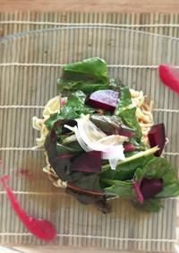 夏ランチ♪冷蔵庫の野菜でさっぱり涼麺