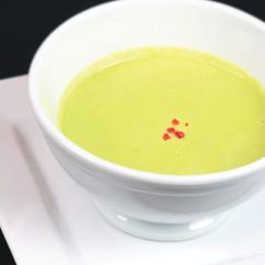 セロリのクリームスープ
