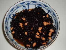 ひじきと豆の煮物