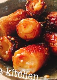 【簡単】チーズちくわの甘辛照り焼き炒め♡