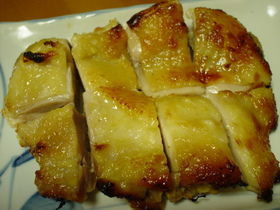 ◎オーブンで♪鶏もも肉の西京漬け焼き