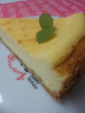 簡単・美味しいチーズケーキ
