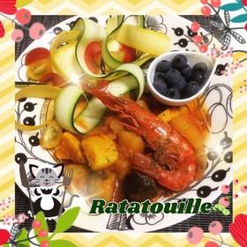 圧力鍋deごろごろ夏野菜のラタトゥイユ♪