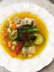 腸にいいスープ  30分の写真