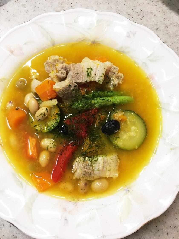 腸にいいスープ  30分