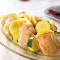 鶏レモンマリネ