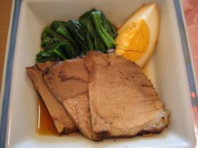 簡単☆紅茶豚のさっぱり煮と味たまご