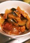トマト缶なしフライパンでラタトゥイユ