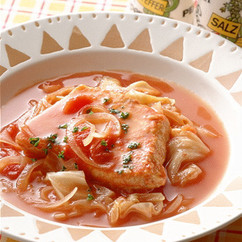 めかじきのトマト煮
