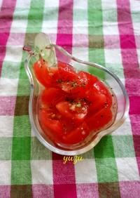 簡単!暑い日に♪フレンチ風トマトサラダ