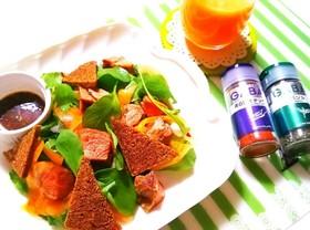 低糖質レシピ☆ラム肉のパワーサラダ