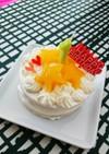 1歳のお誕生日に☆赤ちゃんケーキ