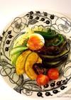 夏野菜たっぷり♡簡単肉みそジャージャー麺