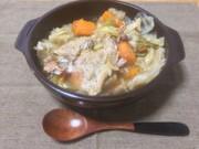 【圧力鍋で簡単】鶏むね肉丸ごと野菜スープの写真