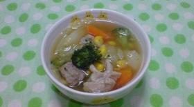 トリさんとお野菜ポトフ(*^^*)