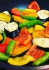 カラフル夏野菜の煮浸し