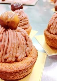 テイータイムお菓子✿栗のモンブラン
