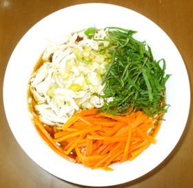 野菜インスタントラーメン♪アレンジ醤油