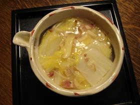 白菜と干し貝柱のとろとろ煮