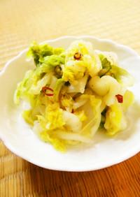 ☺簡単常備菜♪すぐできる白菜のお漬け物☺
