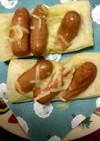超簡単ウィンナーチーズパイ