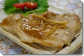 がっつり・豚肉のしょうが焼(味噌)