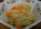 あっという間に!白菜とツナの煮物♪
