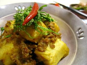 里芋のカレー煮