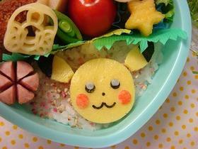 薄焼き卵の簡単ピカチュウ