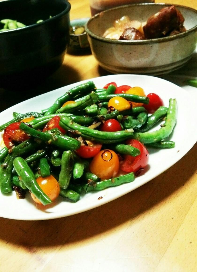 夏野菜の☆ペペロンチーノ