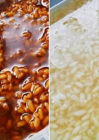簡単★わが家の手作り塩麹&醤油麹