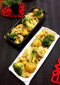 アサリと野菜のアーリオオーリオ