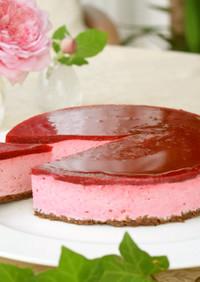 初心者向け*基本のベリームースケーキ